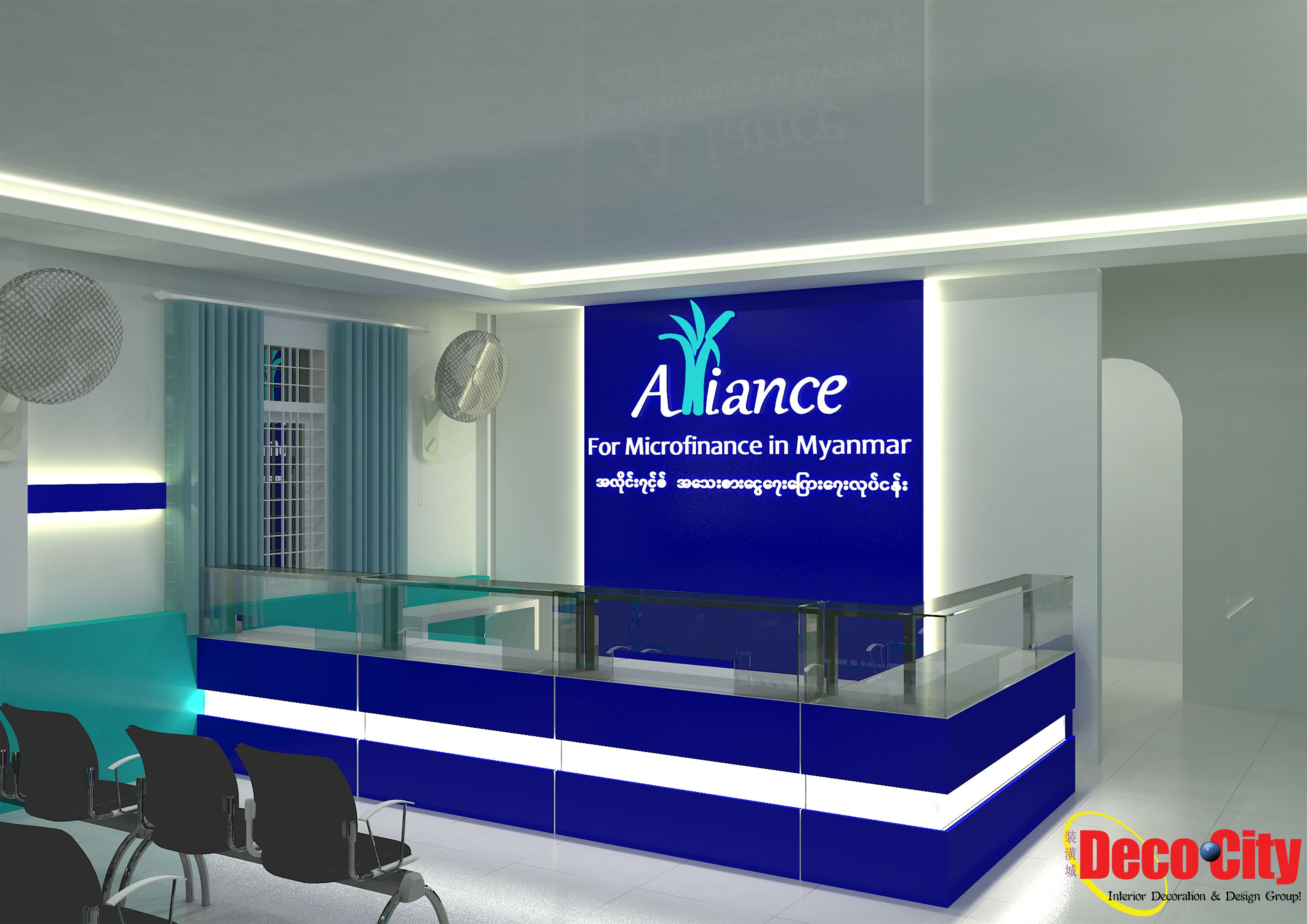 It Is Not Just To Show Interior Decoration Design And Also To Show Reception Counter And Back Logo Design Render Design Design Decor Interior Design