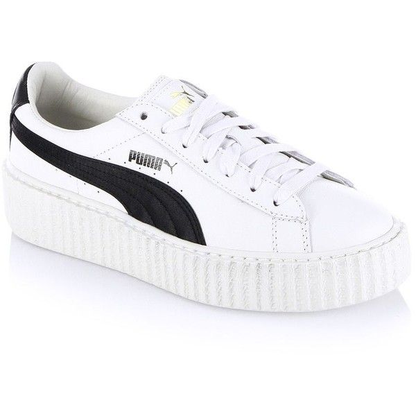 sports shoes f014d 3578b PUMA FENTY Puma x Rihanna Leather Creeper Platform Sneakers ...