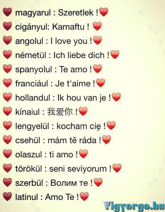 i love you idézetek magyarul I LOVE YOU | Idézet, Ütős idézetek, Motiváló idézetek