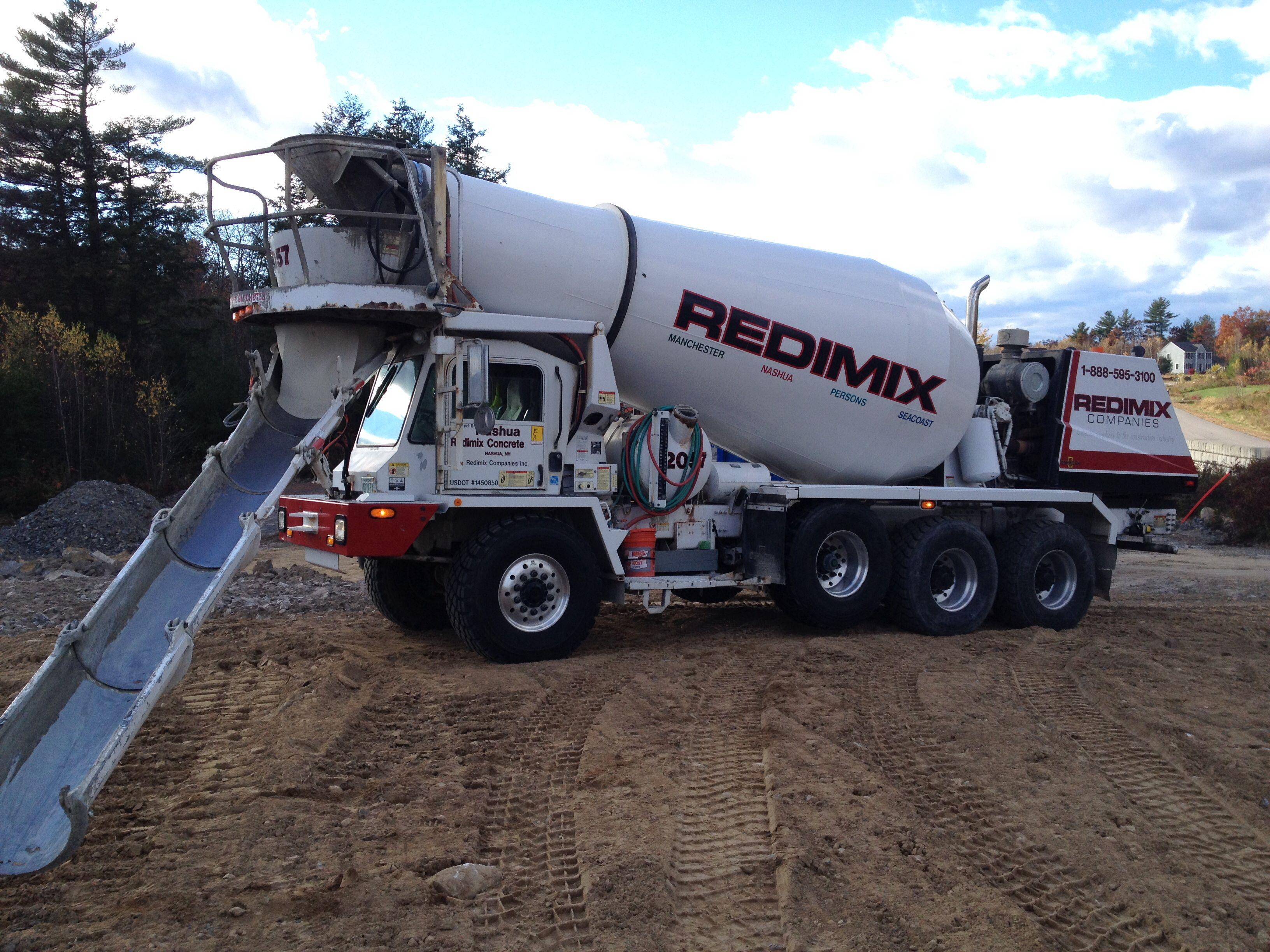 Front Discharge Mixer Concrete Truck Big Rig Trucks Cement Truck