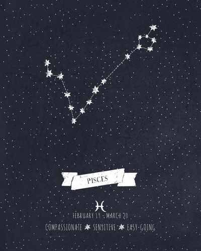 Pisces constellation tattoo! I think this should be my ...