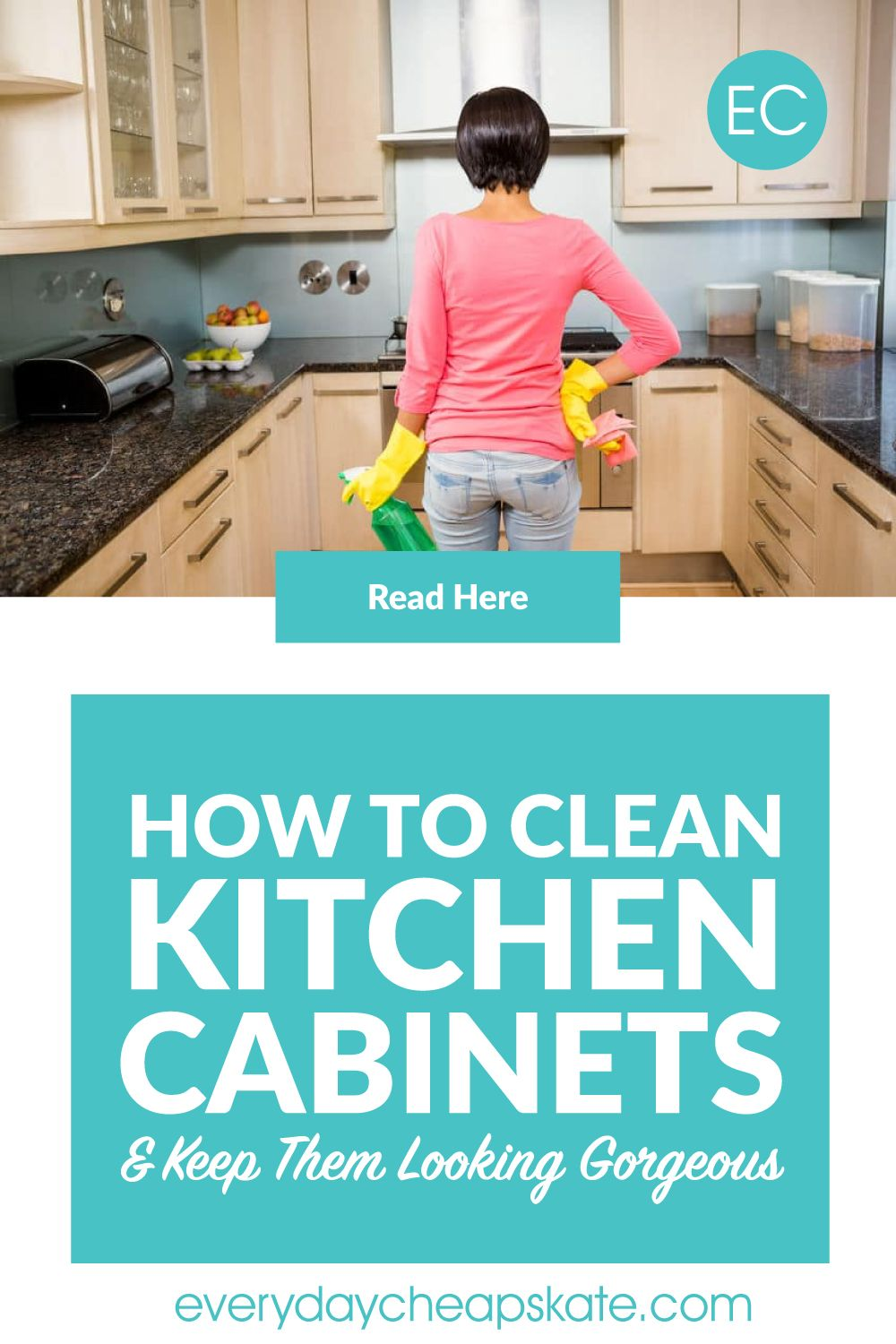 How To Clean Kitchen Cabinets And Keep Them Looking Gorgeous Clean Kitchen Cabinets Clean Kitchen Cleaning Wooden Cabinets