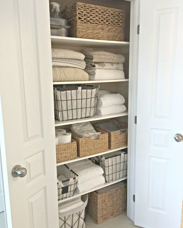 Photo of A Quick And Easy Linen Closet Refresh – Willow Bloom Home