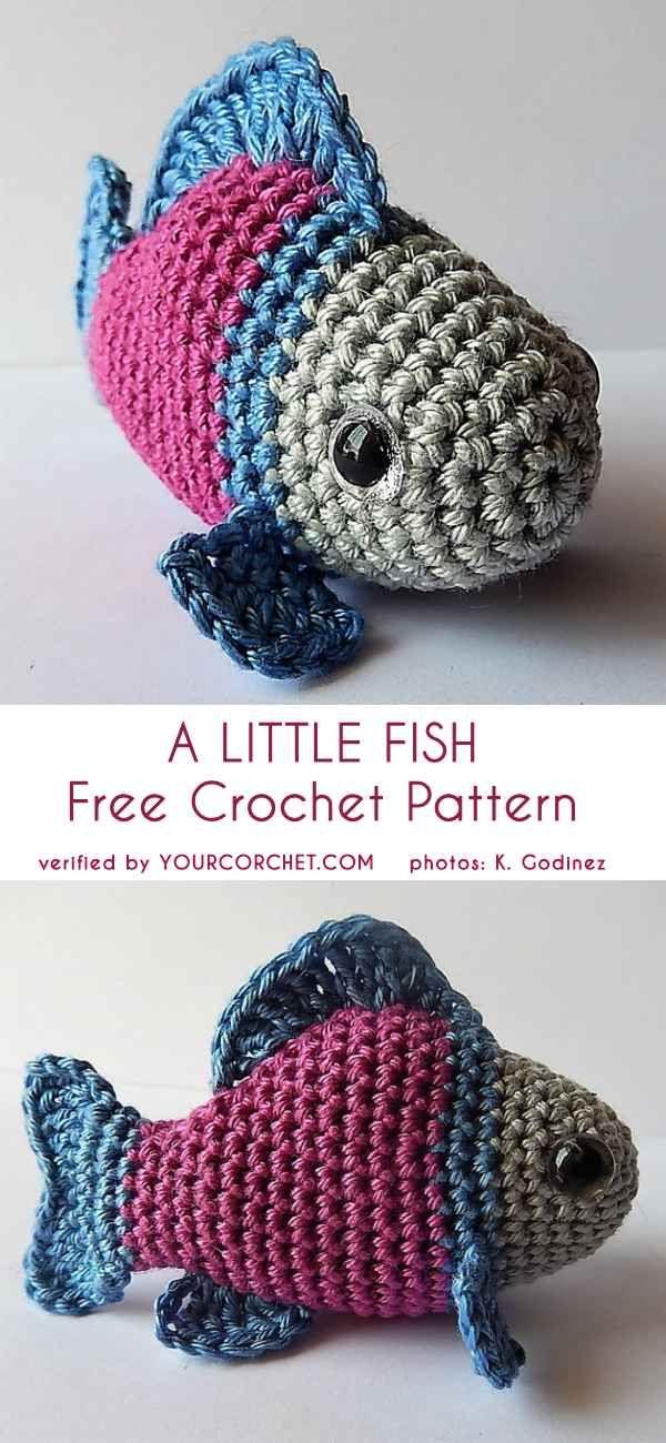 10 Best Crochet Fish Patterns Images