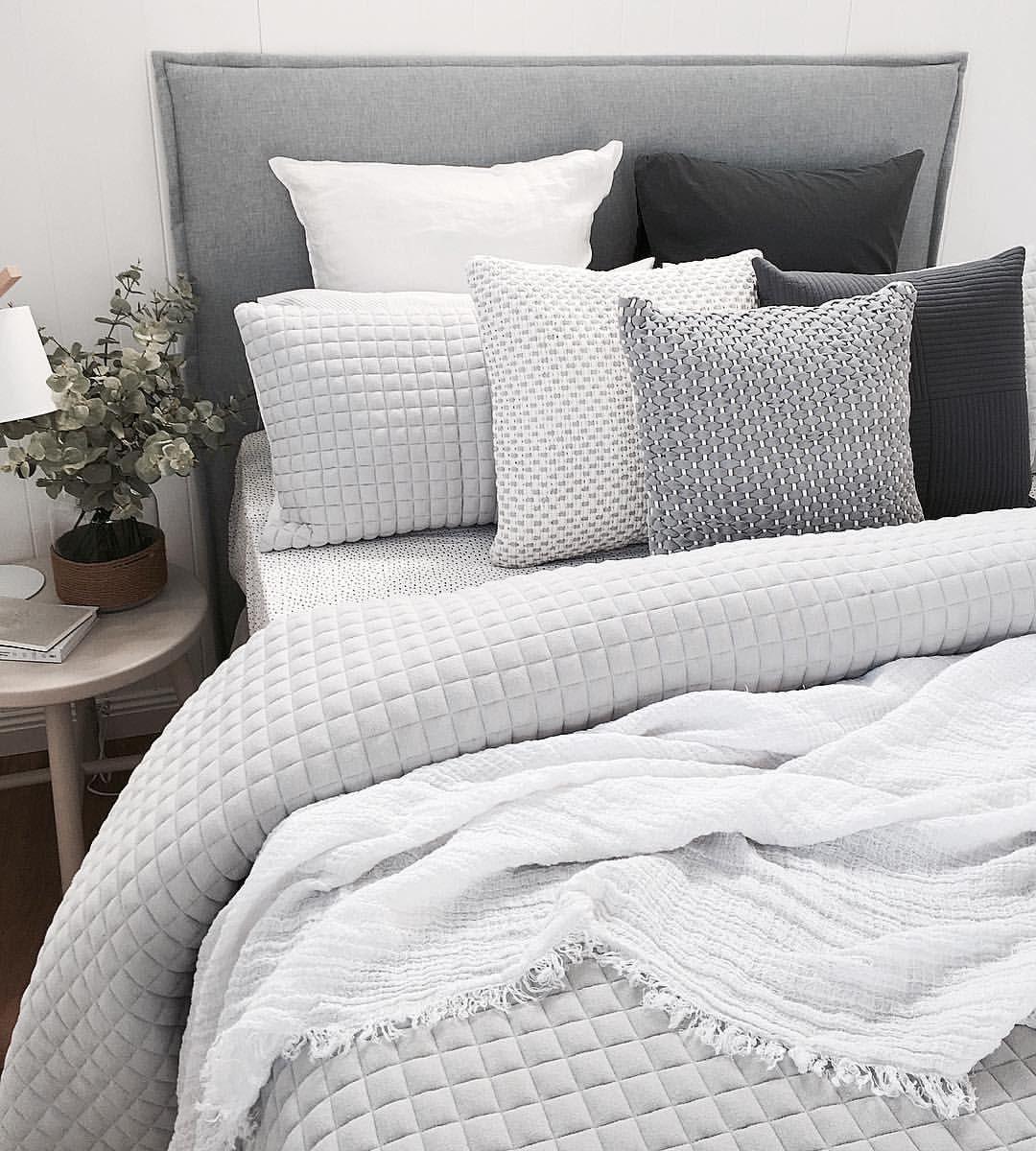 Master bedroom color schemes  bedroom color scheme for guy  girl  simple blackeywhite  My