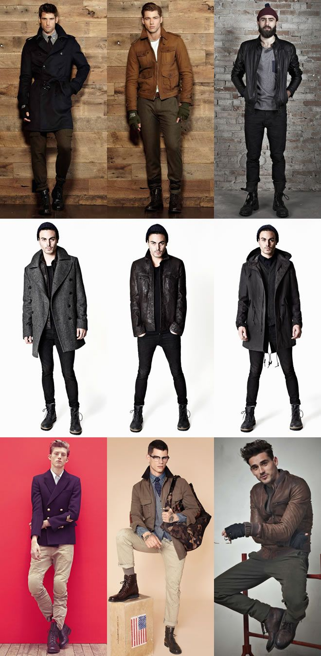 Mens outfits, Mens field jacket, Mens