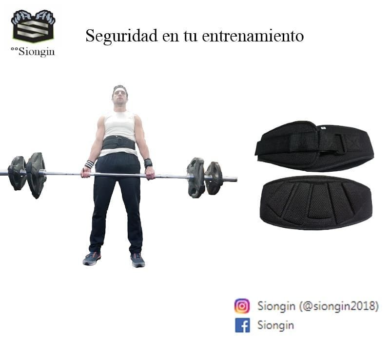 °°Siongin  Seguridad en tu entrenamiento 🏋️♂️🏋️♂️🏋️♂️ Cinturón para hacer ejercicio en el Gimnasi...