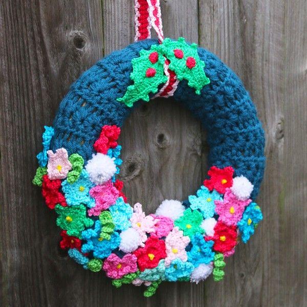 Workshop Kerstkrans Haken Doen Crochet En Christmas
