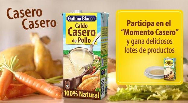 Casero Casero Con El Caldo Casero De Pollo Gallina Blanca Podrás Disfrutar De Un Caldo Casero 100 Natural Hecho Con Mimo Y Esmero Com Casero Pollo Gallinas