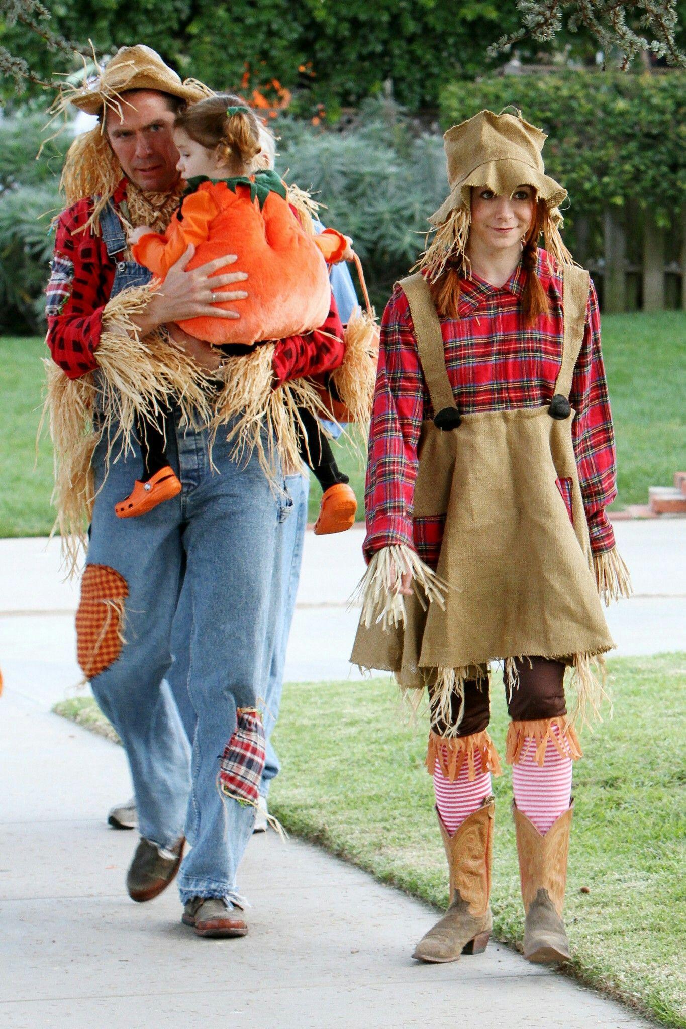 Alyson Hannigan Scarecrow Halloween Costume Wwwtopsimagescom