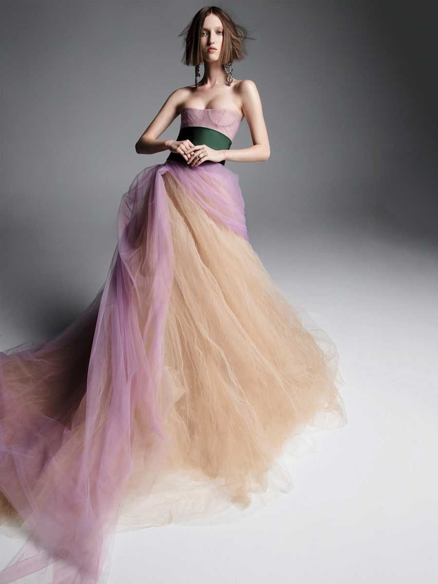 Vera wang ball gown wedding dress  Nouvelle Amsale Spring  Modern Glamour Meets Timeless