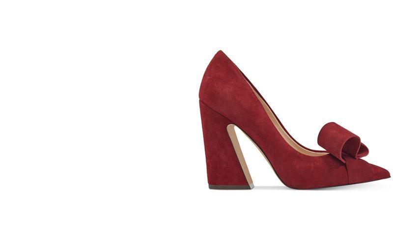 aea9fcdfdce5 Nine West Haddriana Block-Heel Pumps - Heels - Shoes - Macy s