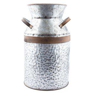 Galvanized Metal Milk Can Shop Hobby Lobby Milk Cans Galvanized Metal Galvanized