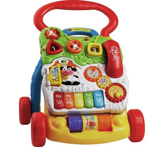 6e7c868e0fbc35 Buy VTech First Steps Baby Walker at Argos.co.uk, visit Argos.co.uk to shop  online for Baby walkers, Baby walkers, ride-ons and trikes, Baby toys, Baby  and ...