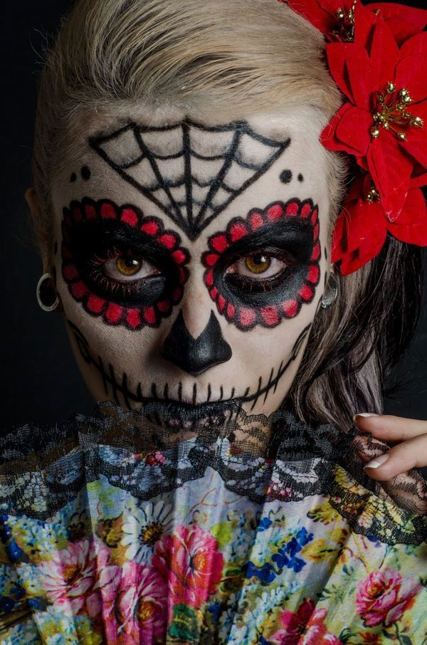 Halloween 2014 top 25 mind blowing and scary makeup ideas for women - halloween horror makeup ideas