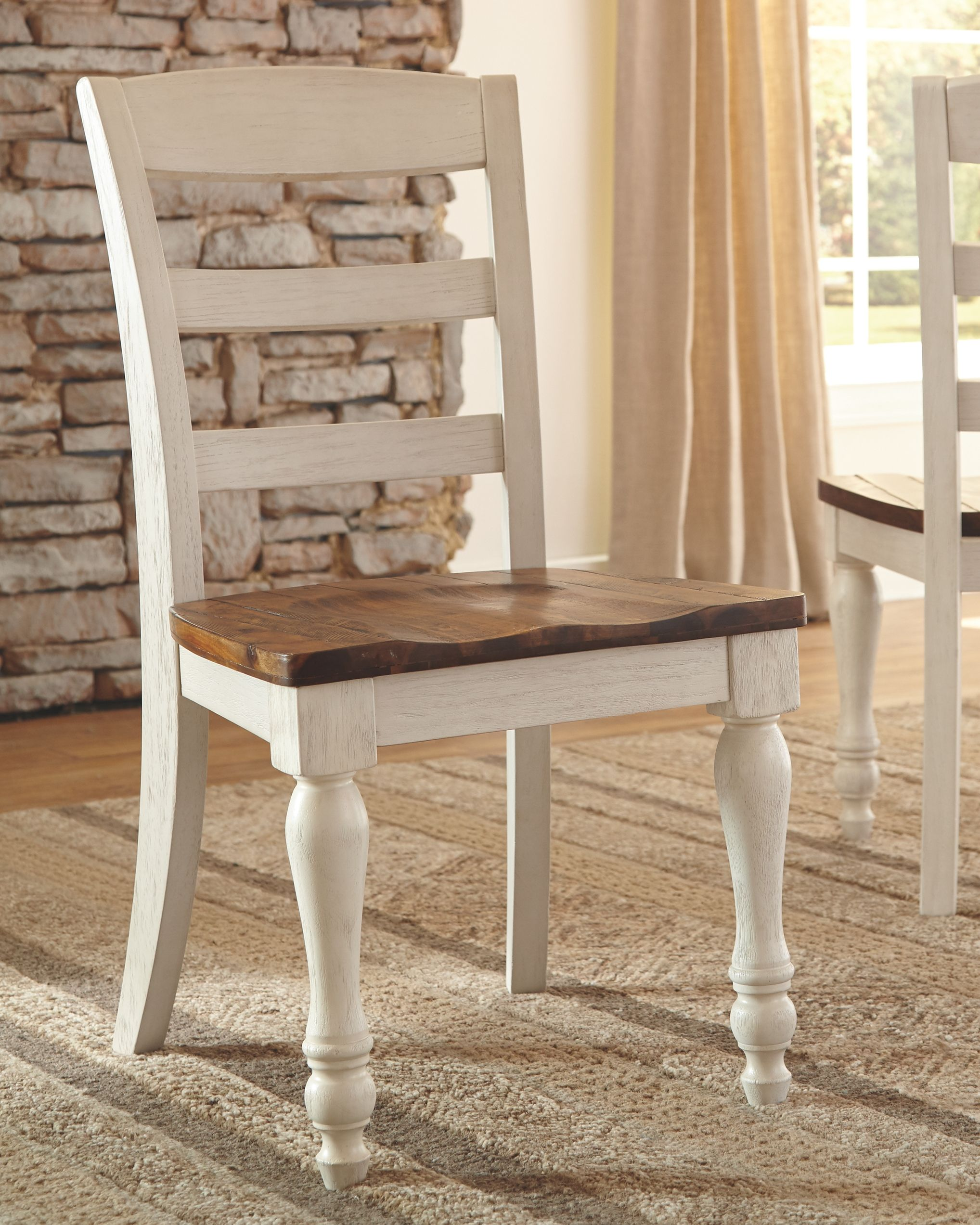 Marsilona Dining Room Chair Set Of 2 Two Tone
