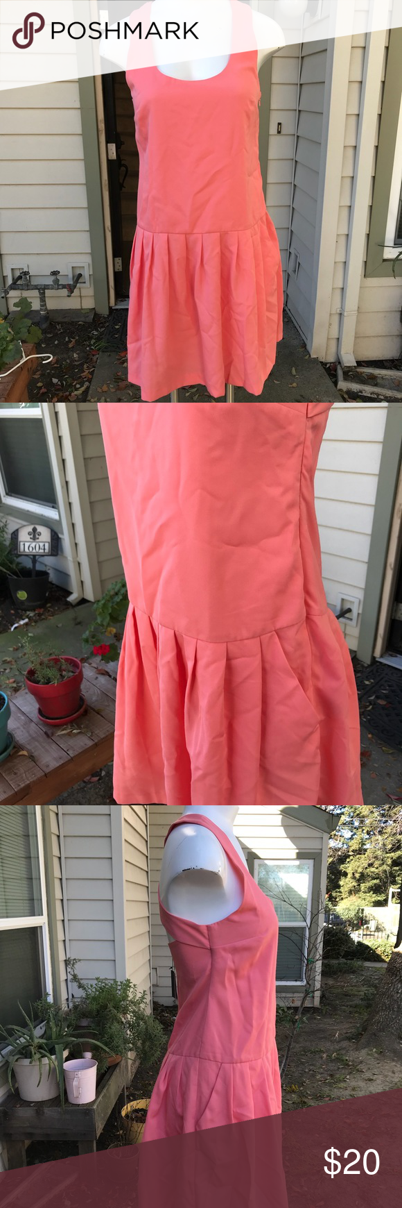 Asos cross back dress nwt my posh picks pinterest pink dresses