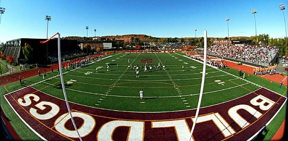 Umd Previous Homepage Photos Bulldogs Play At Griggs Field