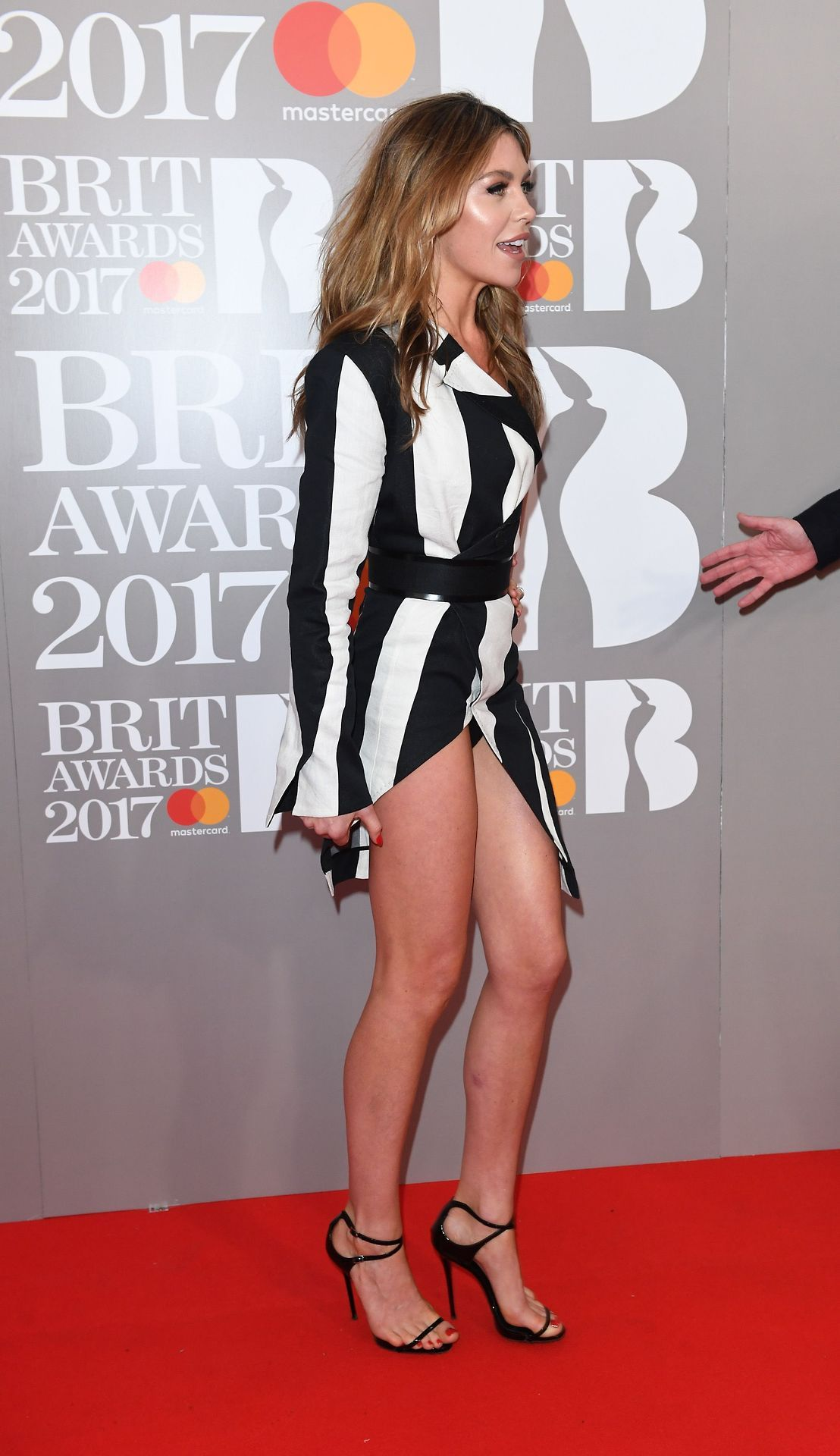 Abbey clancy panty flash and great legs