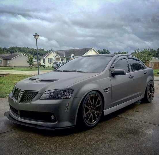 Pontiac G8 Love This Car Need Window Covers On Project