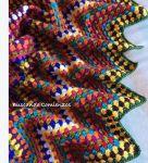 My world of crochet: Polnischer Stern Pattern