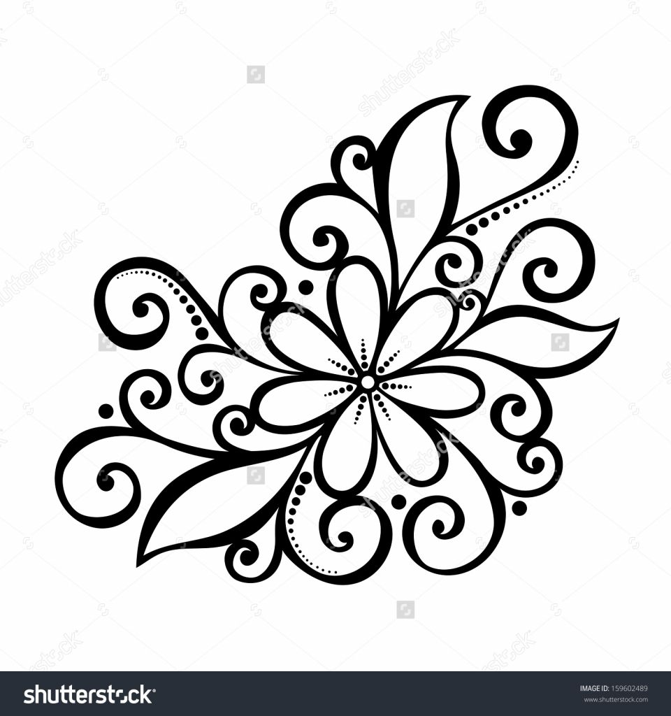 Beautiful Flower Designs To Draw Easy Drawing Of Sketch Pola