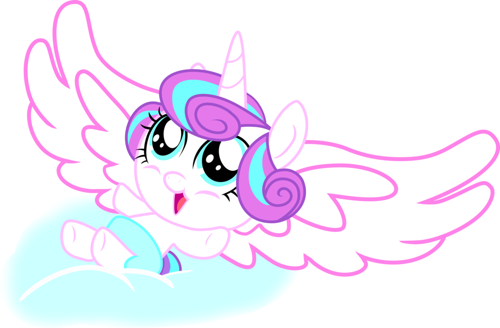 Princess Flurry Heart (CANON) by ShutterflyEQD on