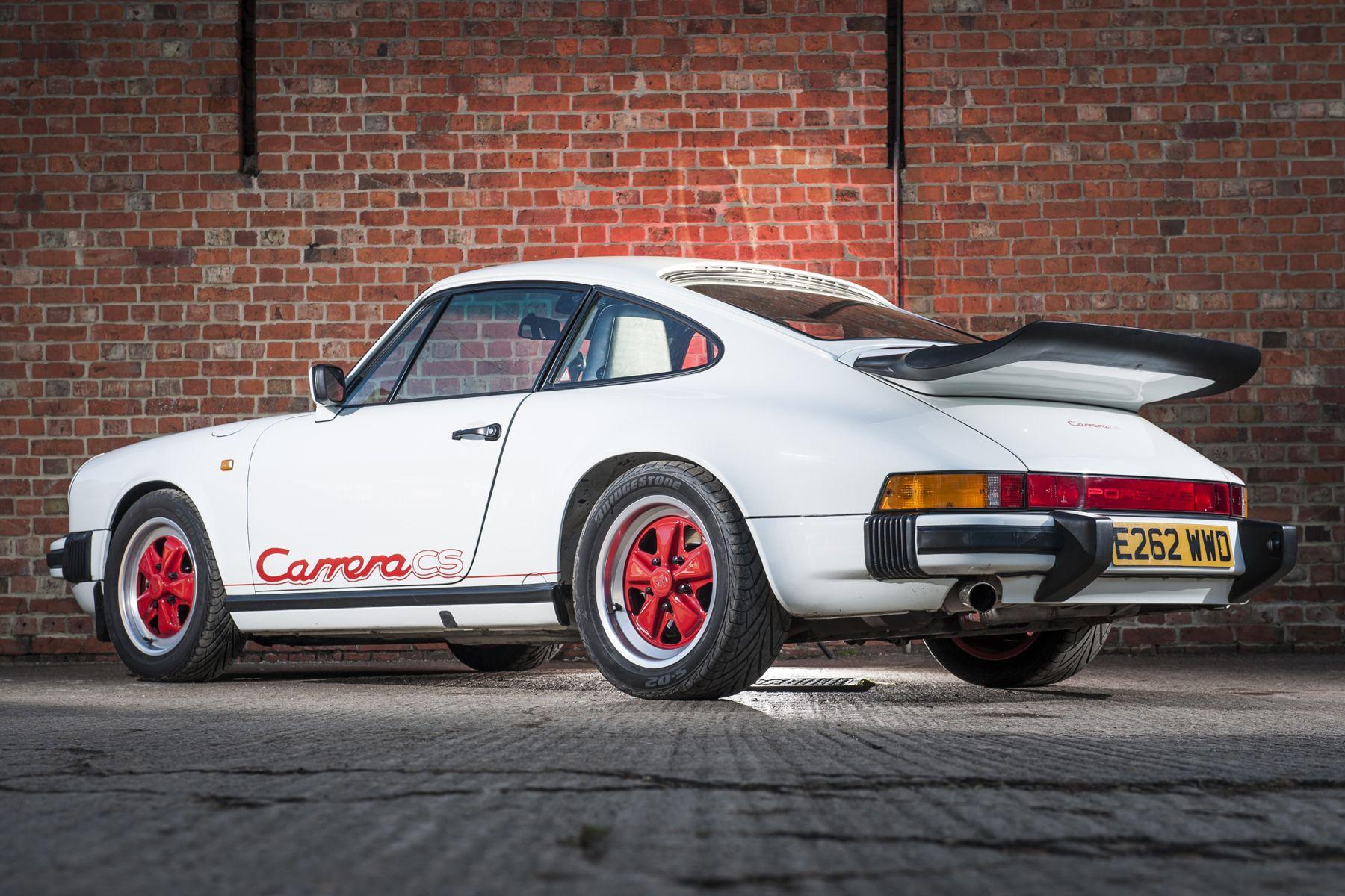 1987 89 porsche 911 carrera 3 2 clubsport coupe