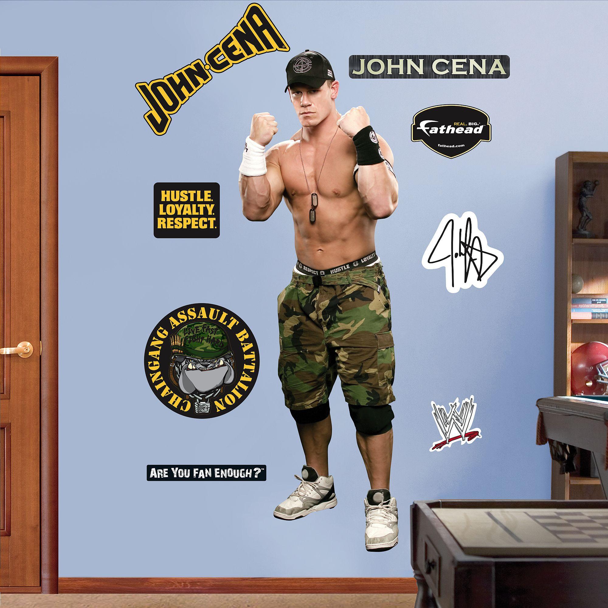John Cena Fathead Carolina Hurricanes Carolina Panthers