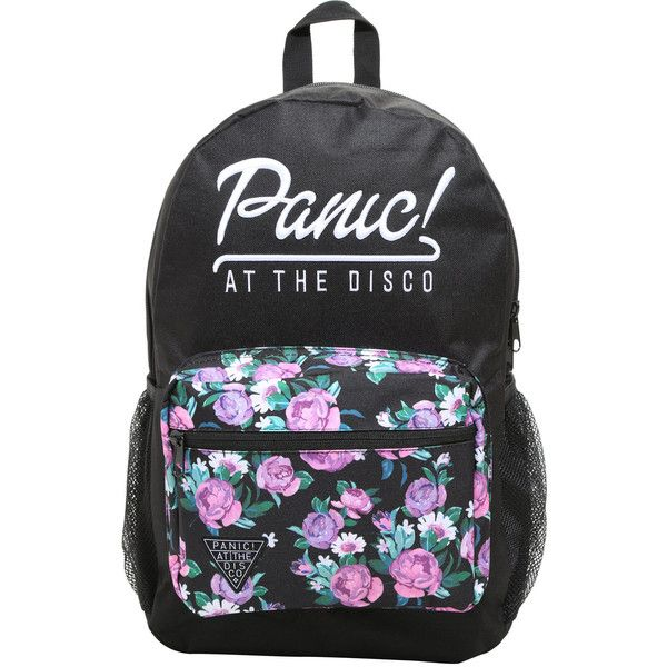 at the disco floral embroidered backpack  115 brl      liked on polyvore panic  at the disco floral embroidered backpack  115 brl      liked      rh   pinterest