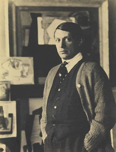 Picasso by Man Ray 1922