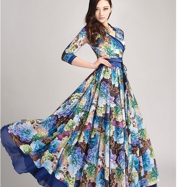 New Women fashion Polyester Big Wing Prom Wedding Super Long Dress Skirt