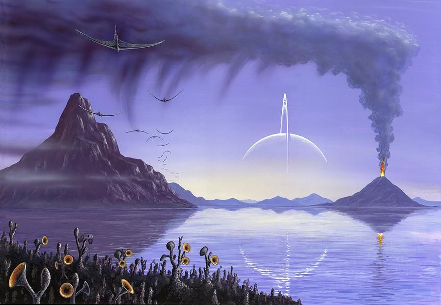 Alien planet art | Aliens Planet Art | Pinterest | Sci fi ...