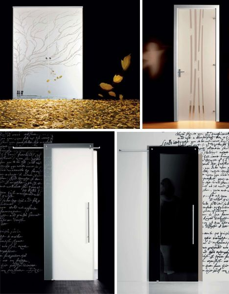 Glass, Frosted U0026 Frameless Interior Doors | Designs