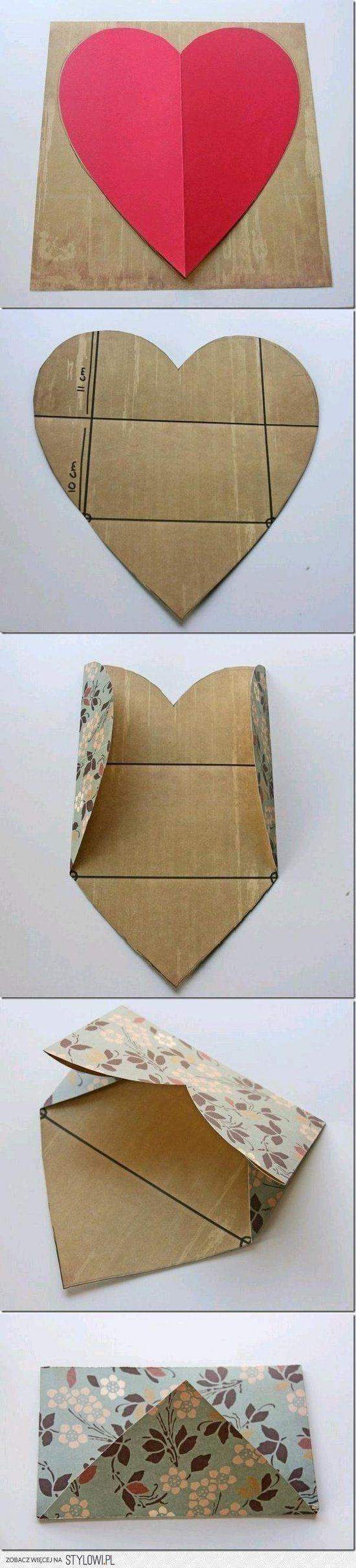 sobre corazón