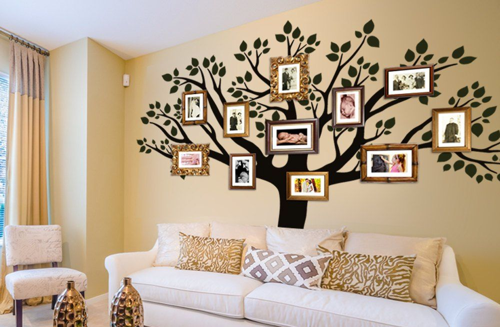 family tree wall decor stickers | Rumble Jetts | Decorating ...