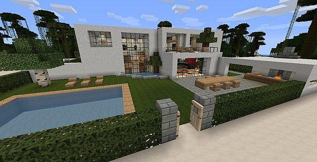 Minecraft Haus Modern Minecraft Pinterest Haus And Pocket - Minecraft kleine mittelalter hauser