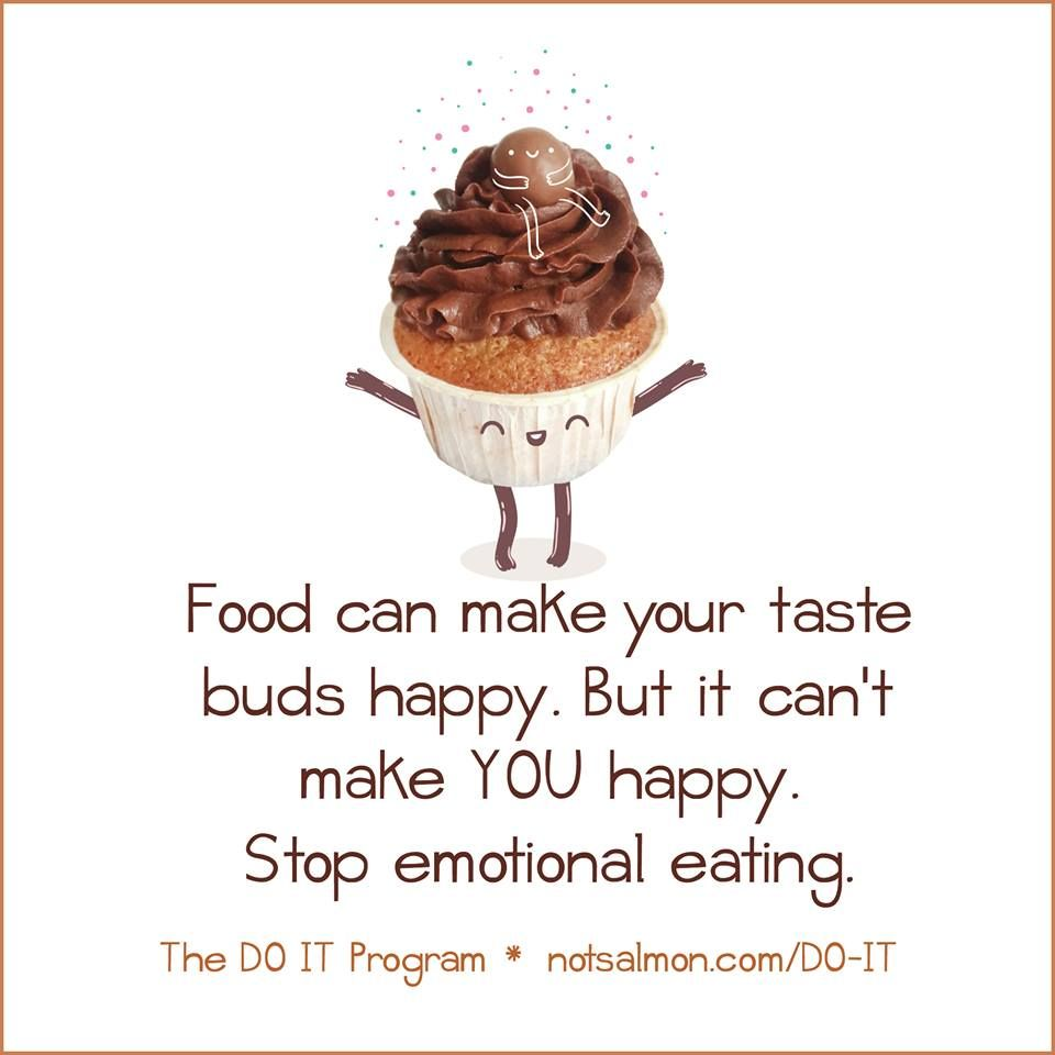 Food can make your taste buds happy  But it can't make you happy