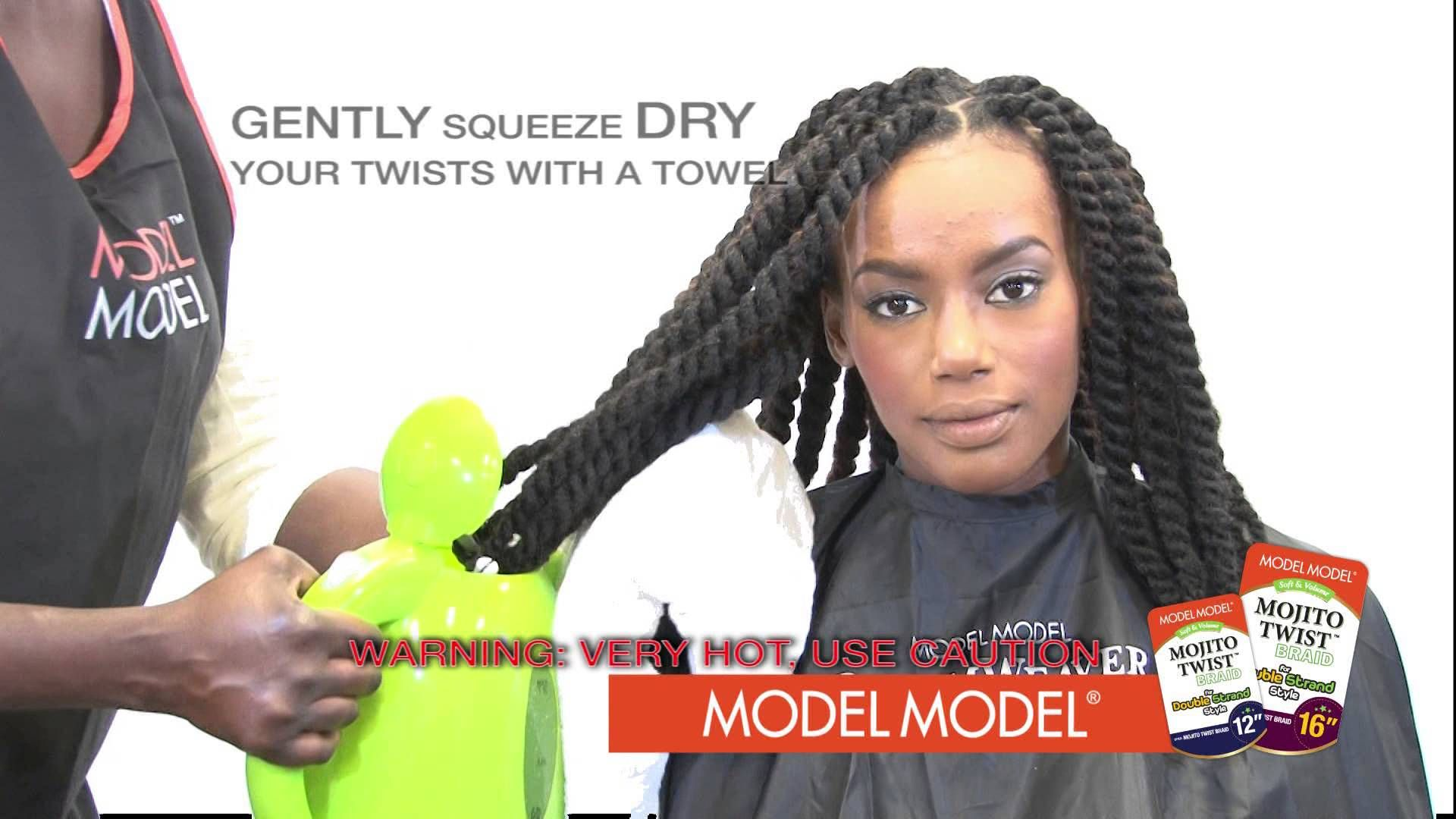 Full tutorial on how to install mojito twist hair my hairstyles