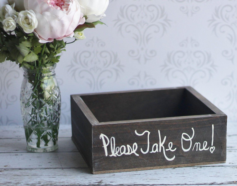 Rustic Shabby Chic Wedding Favors Box Item P10302 29 99 Via Etsy