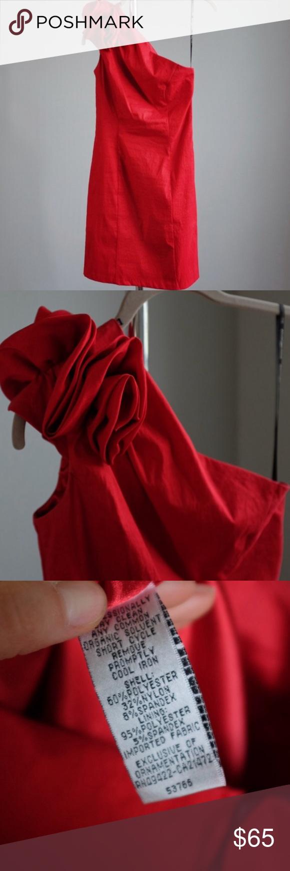 Jessica mcclintock red dress perfect valentine en my posh