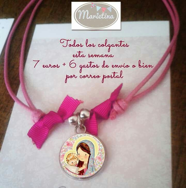 Escapulario Necklace: Medallas Escapulario Para Niños