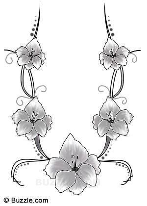 Sneak A Peek At These Splendid Gladiolus Flower Tattoo Ideas