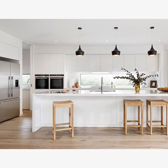 Country Kitchen Design Minimalist: Seamless, Minimalistic Kitchen