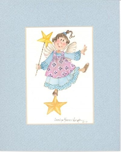 Star Dancer watercolor $25.00