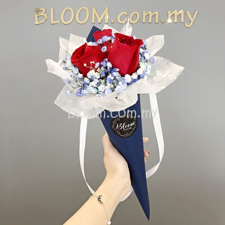 Valentines Day Flower Promotion with Delivery Service in