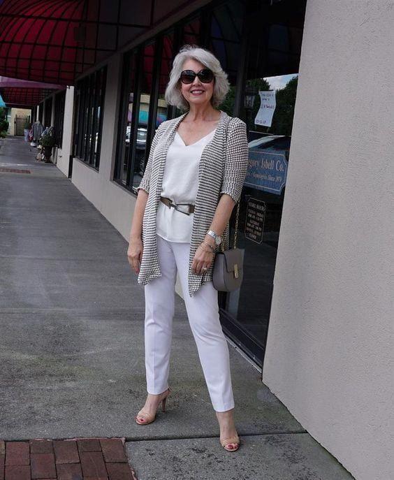 Photo of # olderwomenfashionover60style