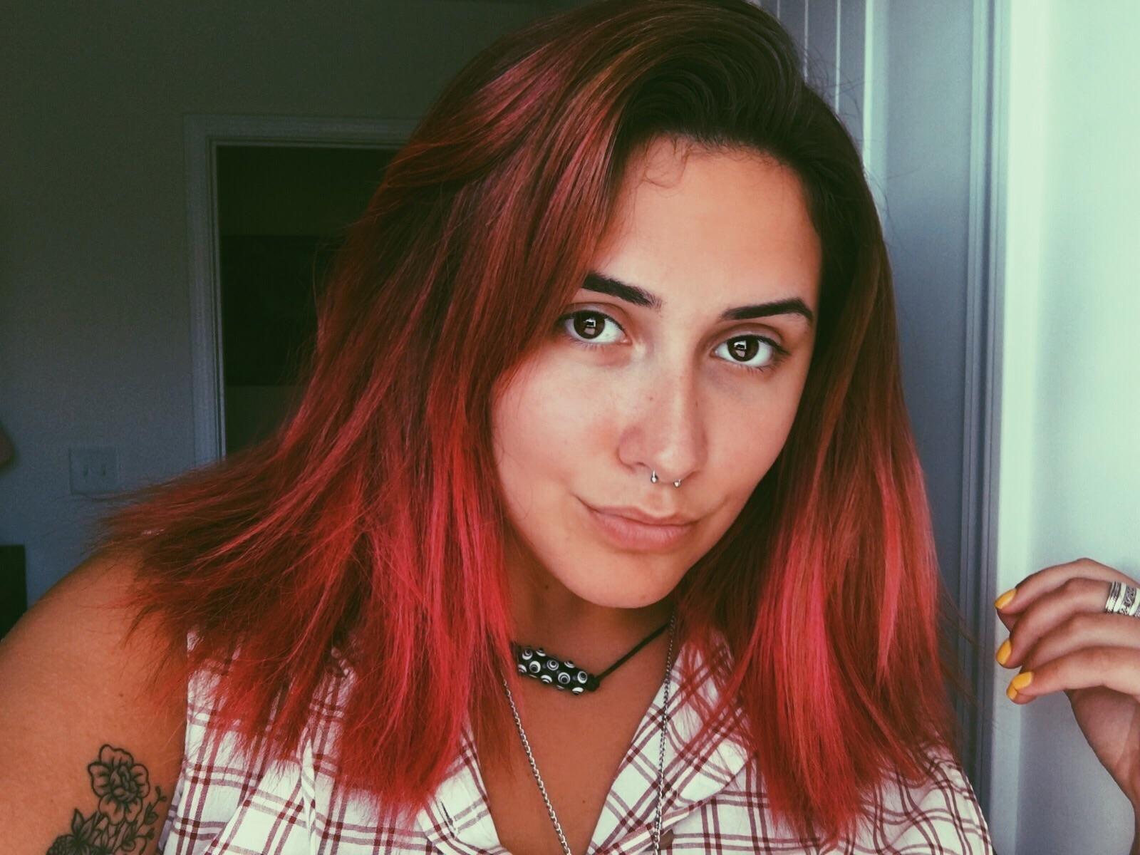 My fiery pink hairs fancyfollicles pinterest pink hair
