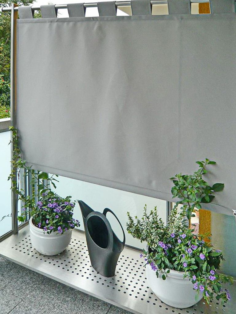 Windschutz Sichtschutz (1) Wohnung balkon dekoration