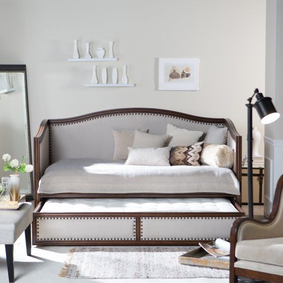 Belham Living Halstead Upholstered Daybed For the Home Pinterest - Daybed Images